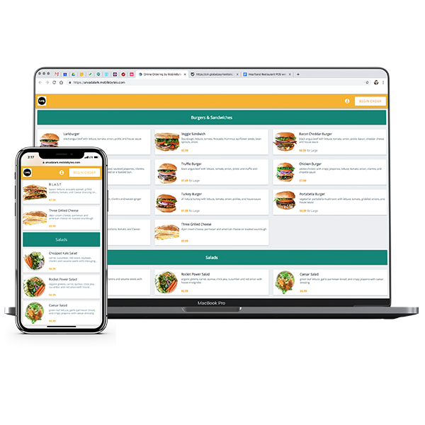 Adding online ordering to your restaurant